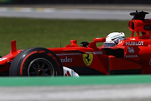 F1 Reactions Vettel probó piezas para el Ferrari 2018
