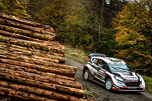 WRC Leg report Wales WRC: Home hero Evans takes early lead