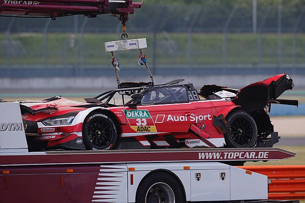 DTM Noticias VIDEO: choque de Rene Rast en Lausitzring