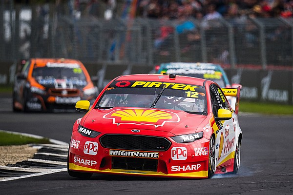 Supercars Coulthard not giving up on Supercars title fight