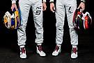 Leclerc y Ericsson presumen sus cascos para 2018