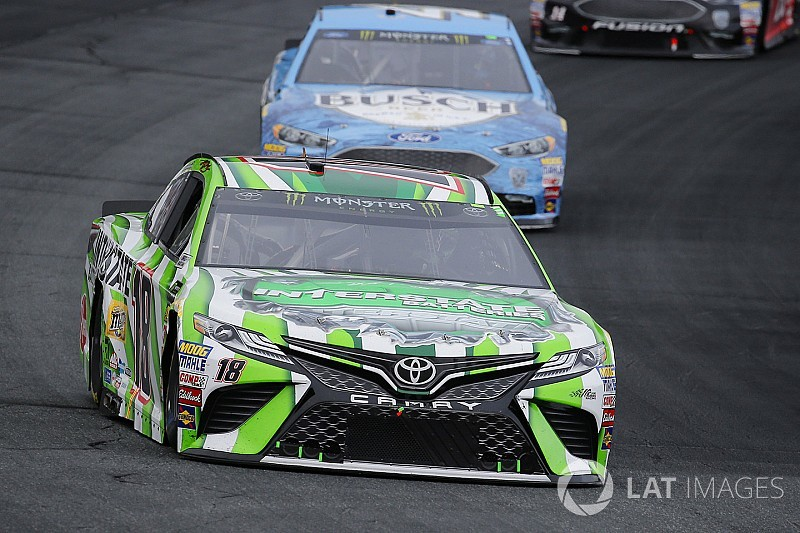 Kyle Busch on Harvick contact: