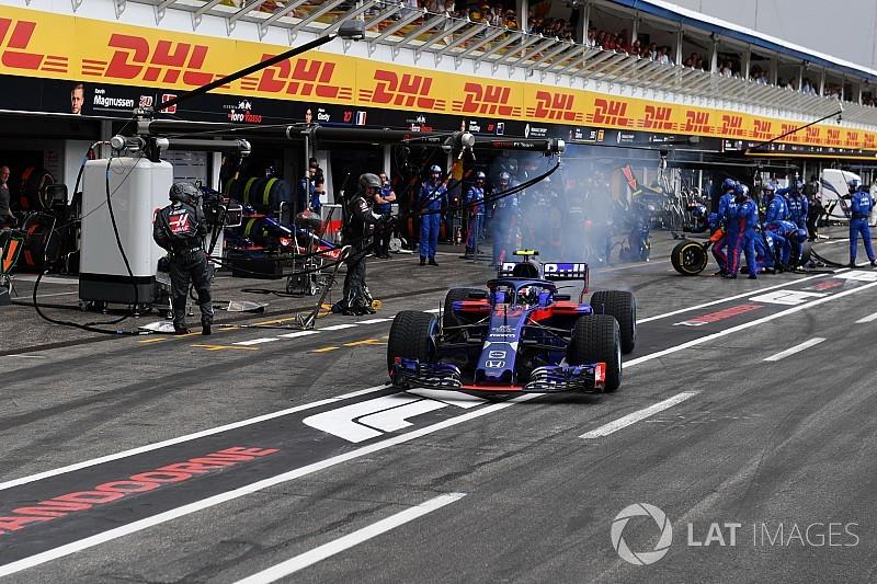 Gasly, Toro Rosso'nun yağmur lastiği tercihini beklemiyormuş
