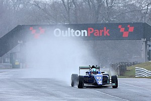 BF3 Breaking news Monger completes first single-seater test since accident
