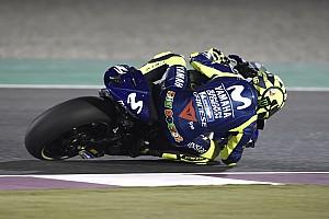 Rossi alami kecelakaan di FP3 MotoGP Qatar