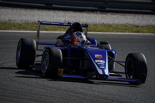 Rafa Câmara acelera pela 1ª vez em Monza e é destaque do teste coletivo da F4 com a equipe Cram