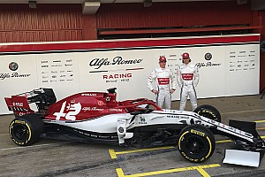 Alfa Romeo muestra su decoración para la F1 2019