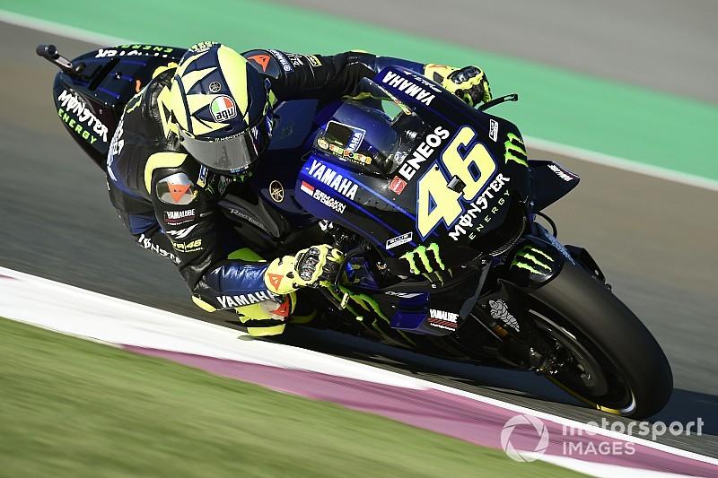 Rossi lidera un explosivo primer ensayo de la temporada en Qatar; Lorenzo, segundo
