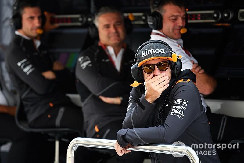 Alonso considera que la carrera de F2 fue más divertida que la calificación de F1