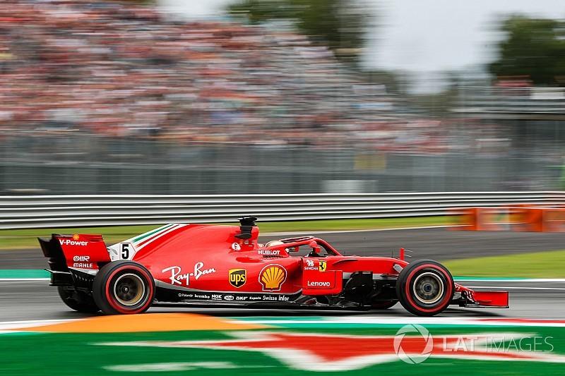 İtalya GP 2. antrenman: Vettel lider, Ferrari 1-2