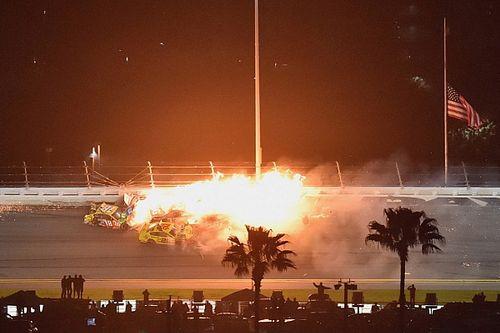 """Logano lideraba Daytona 500 y luego llegó """"el caos"""""""