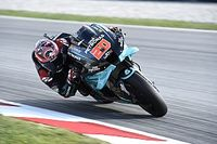 MotoGP, Barcellona, Warm-Up: Quartararo cade e svetta