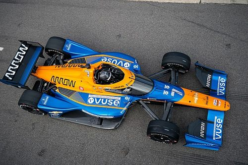 Hulkenberg impresses Arrow McLaren SP in first IndyCar test