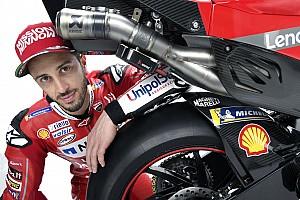 De livery voor de nieuwe Ducati Desmosedici GP19 vanuit alle hoeken