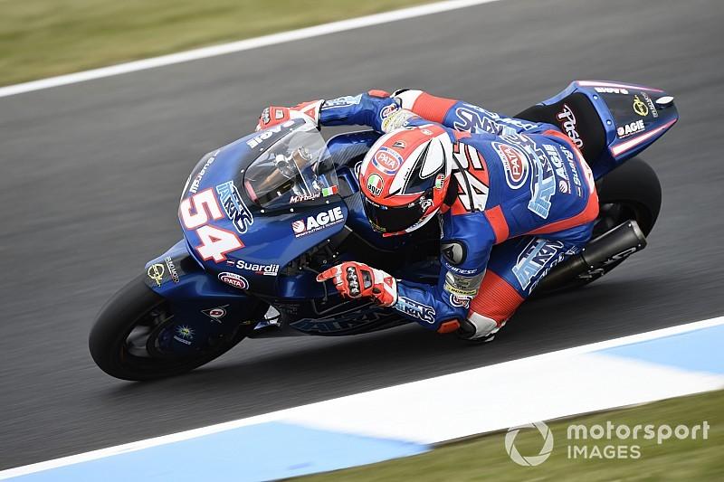 Moto2 Australia: Pole ketiga Pasini, Bagnaia-Oliveira tercecer