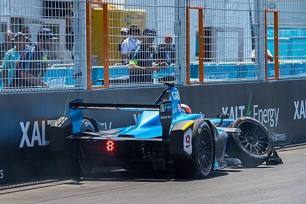 Формула E Новость Главные аварии сезона Формулы Е: видео