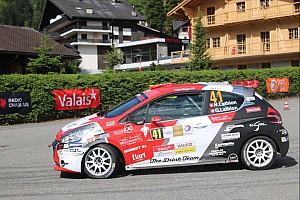 Rally Svizzera Gara Rallye du Chablais Junior: Nicolas Lathion imita… Loeb!