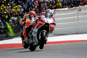 MotoGP Race report MotoGP Austria: Duel panas, Dovizioso kalahkan Marquez