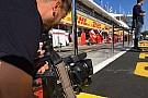 F1 Mi trabajo en F1... Cámara de televisión en Fórmula 1 para España