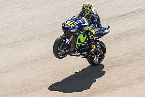 MotoGP Reaktion MotoGP Aragon: Valentino Rossi von Platz in Reihe 1 selbst überrascht