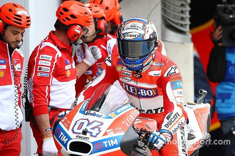 """Dovizioso veut """"garder les pieds sur terre : l'objectif est le podium"""""""