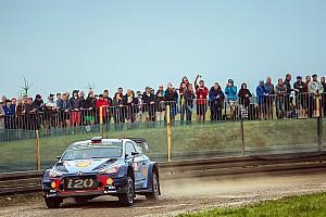 WRC Resumen de la etapa Neuville y Tanak siguen en una ajustada lucha en Polonia