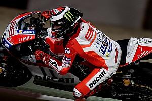 MotoGP Actualités Première chute pour Lorenzo chez Ducati