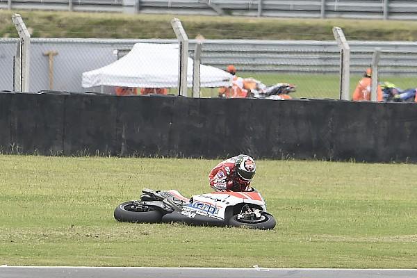 Jorge Lorenzo: Frühes Aus beim MotoGP-Lauf in Argentinien frustrierend