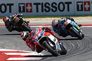 MotoGP Важливі новини Лоренсо: Стати кращим в Остіні я не зміг через шини