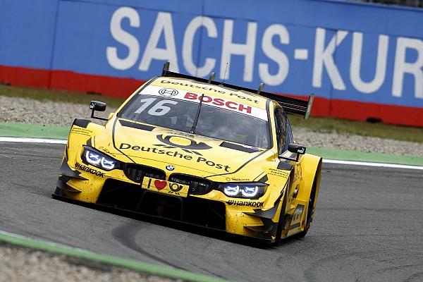 DTM Hockenheim DTM: Glock prevails in damp Sunday qualifying