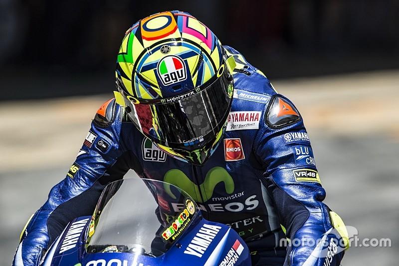 Росси остался доволен новым шасси Yamaha