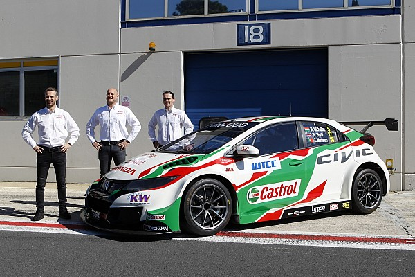 WTCC Huff: Honda's engine power has improved dramatically