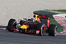 Ricciardo posts a largely trouble-free 87 laps at the Circuit de Barcelona-Catalunya