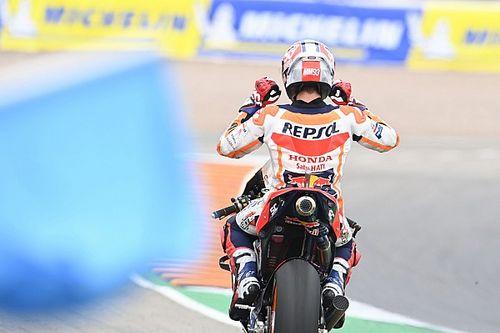 La fotos del regreso triunfal de Marc Márquez en Sachsenring