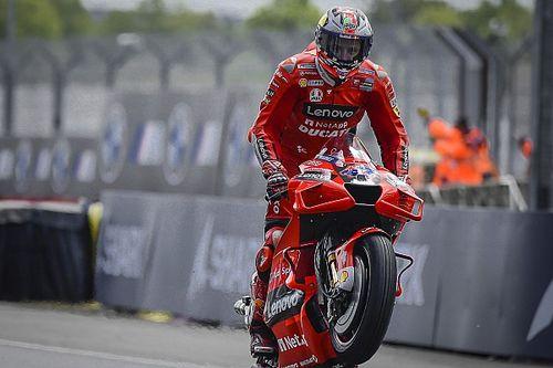 Report MotoGP: Ducati a tre punte per battere Quartararo