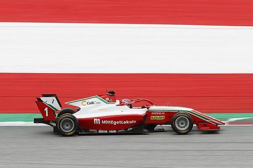 Austria F3: Hauger toma la pole tras sanción a Collet