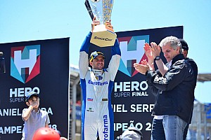 Serra celebra título