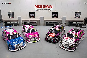 Livery pink, bentuk perpisahan Nissan di Supercars