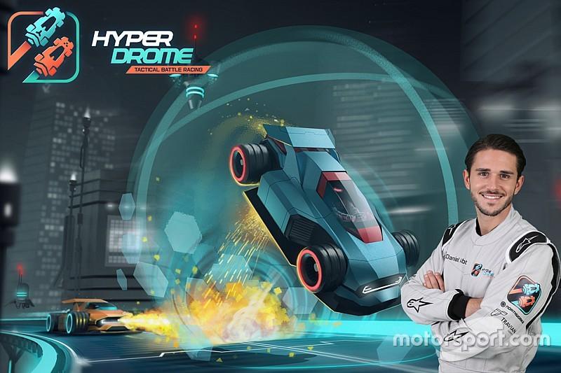 Daniel Abt prend le volant dans Hyperdrome, le jeu de course du futur