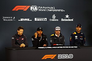 United States GP: Thursday's press conference
