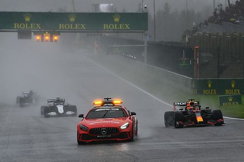 """Berger hekelt acties F1 in Spa: """"Hadden gewoon kunnen rijden in regen"""""""