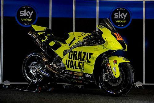 "MotoGP | ""Grazie Vale"", la livrea speciale dello Sky Racing Team VR46"