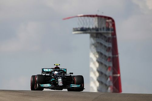 F1 United States GP: Bottas leads dominant Mercedes 1-2 in FP1