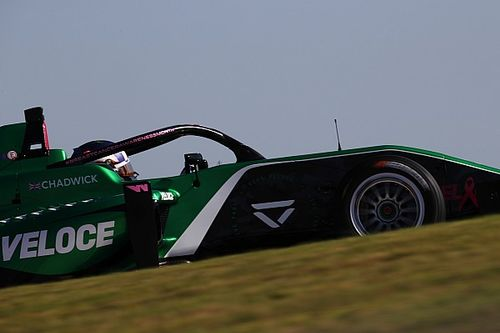 COTA W Series: Chadwick tops red-flagged second practice