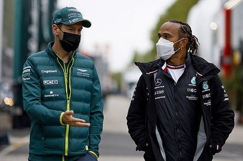هاميلتون يختار معركته مع فيتيل على أنّها المفضّلة في مسيرته في الفورمولا واحد