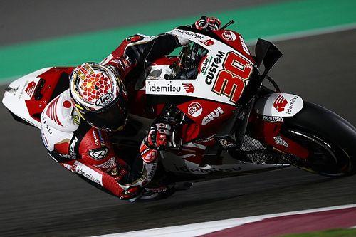 中上貴晶「最新型バイクはかなり違っている」エンジンの特性にはポジティブ評価|MotoGPカタールテスト