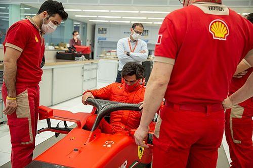 Ferrari stuurt zeven coureurs de baan op met 2018 Formule 1-auto