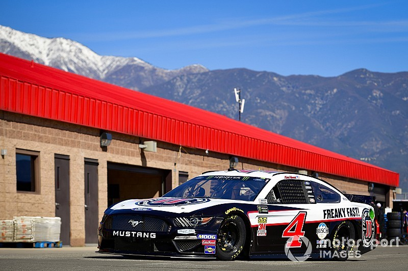Kevin Harvick fastest in Saturday's first Cup practice at Fontana