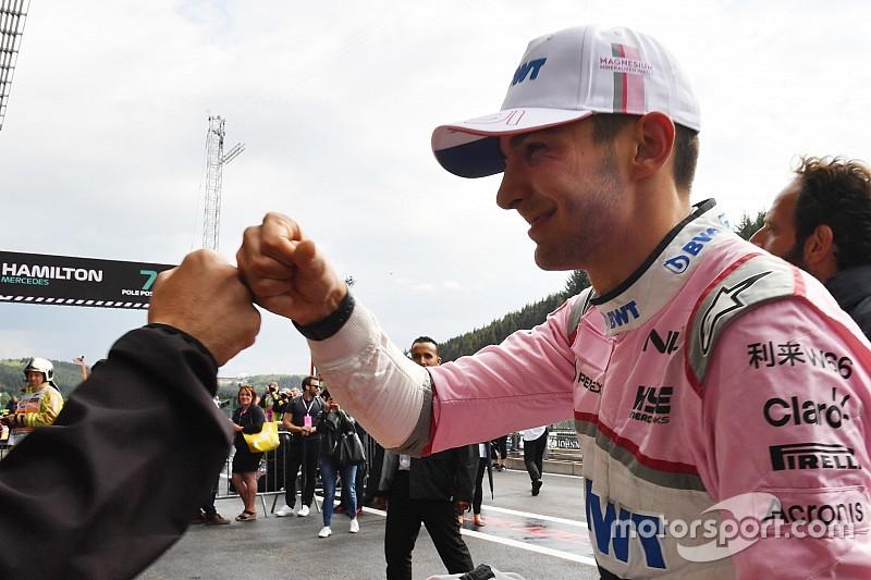 Quand Ocon confie à Vettel qu'il quittera Force India