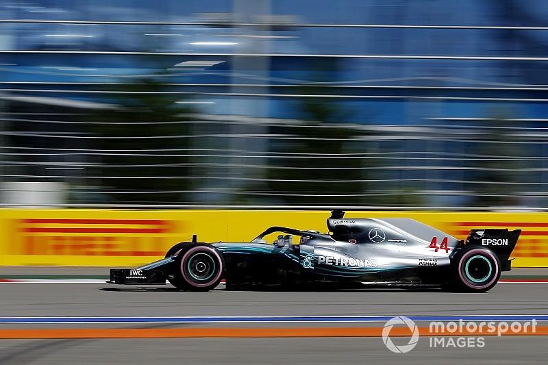 Formel 1 Sotschi 2018: Lewis Hamilton stellt Streckenrekord auf